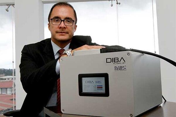 Erick Silesky viajará el fin de semana al congreso mundial de inversionistas ángeles donde presentará el proyecto de Plasma Innova. (Foto cortesía Plasma Innova / Archivo GN)