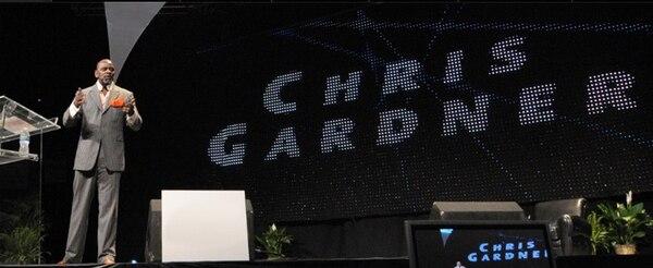 Christopher Gardner hablará sobre el plan conocido como el C-5 Complex: se trata de ser claro, conciso, convincente, coherente y comprometido.