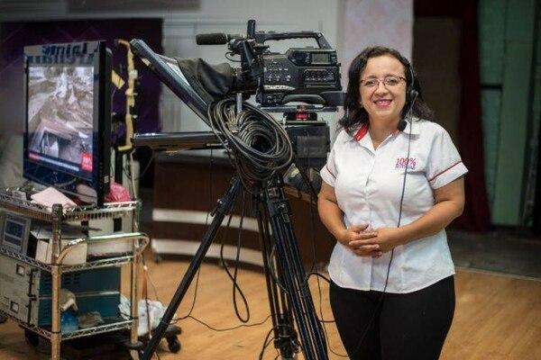 Periodista Lucía Pineda. Foto: Tomada del Facebook de Lucía Pineda