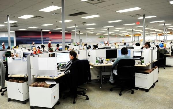 Además del centro de investigación y desarrollo, Intel cuenta con un centro de servicios corporativos globales en San Antonio de Belén, que incluye el área de finanzas donde se impulsa la digitalización de tareas. (Foto Rafael Murillo / Archivo GN)