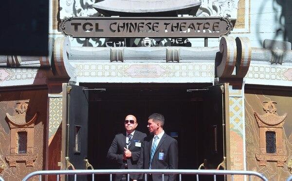 El Teatro Chino en Hollywood, California este 10 de octubre 2016,grandes inversiones chinas se registran en la industria del cine en Hollywood.