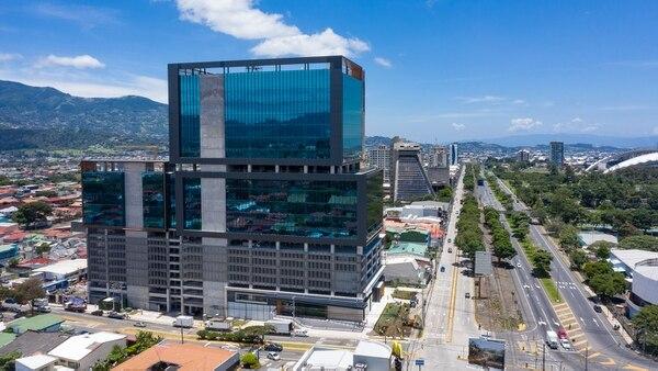 La Torre Universal de ubica en La Sabana, específicamente donde antes estaba la Tienda Universal, en Sabana Sur. Fotografía: Cortesía de Portafolio Inmobiliario.