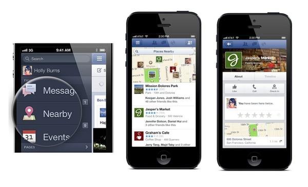 Nearby seguirá siendo mejorada por Facebook