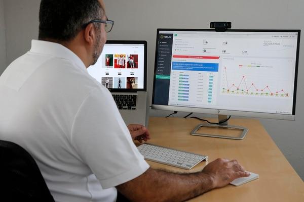 Nidux destacó el crecimiento de clientes que buscan información y compran. (Foto Mayela López / Archivo GN)