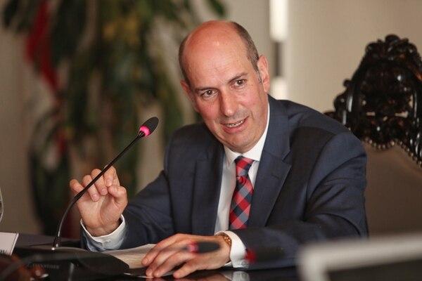 Rodrigo Cubero, presidente del BCCR, manifestó desde el inició de su gestión que el valor del dólar debería tener más flexibilidad.