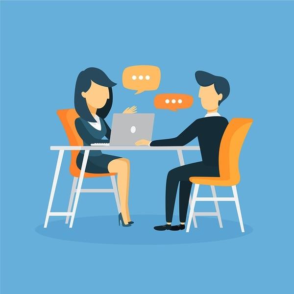 Antes de tener la conversación, piense en los problemas que podrían surgir. (Imagen: Shutterstock para EF).