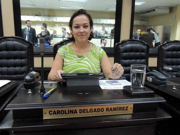 La diputada del PLN, Carolina Delgado, dijo que Comisión de Nombramientos recibió la semana anterior a 21 de 49 aspirantes.