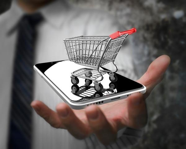 La app permite realizar compras desde el móvil.