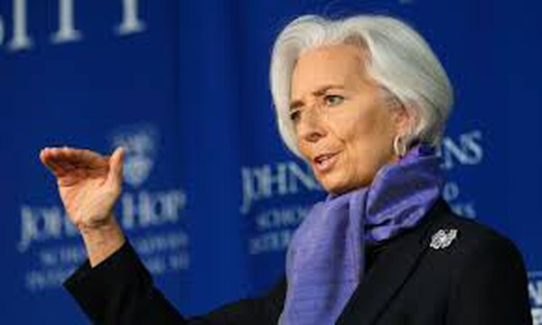 Christine Lagarde, directora gerente del FMI, señaló que la actual recuperación económica mundial es aún