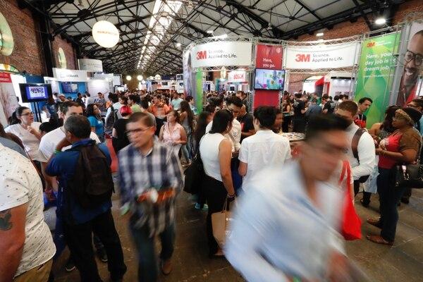 Esta será la décimo cuarta edición de la Cinde Job Fair, organizada por la Coalición Costarricense de Iniciativas de Desarrollo (CINDE). Fotografía: Luis Navarro / Archivo GN.