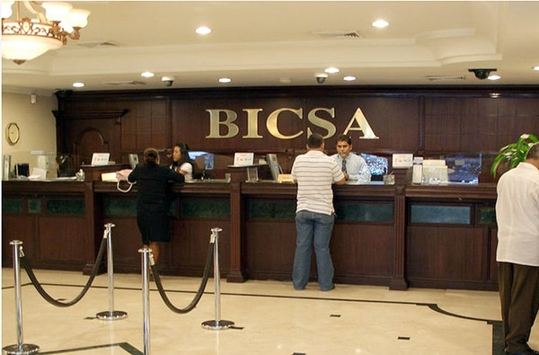 Oficina de Bicsa en Panamá.