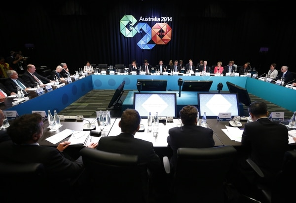Las delegaciones de los países más ricos del mundo y la Unión Europea se reúnen en Australia desde este sábado.