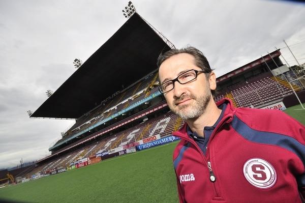 Juan Carlos Rojas, presidente del Deportivo Saprissa.