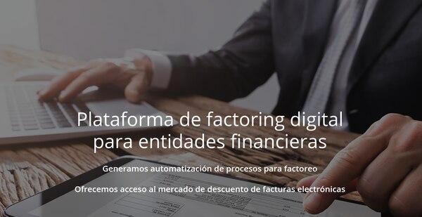 La solución de automatización de factoreo va dirigida a todos tipo de entidades que brindan este servicio. (Reproducción EF)