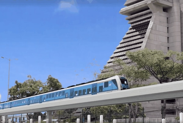 Tren rápido de pasajeros. (Foto: Presidencia de la República para EF).