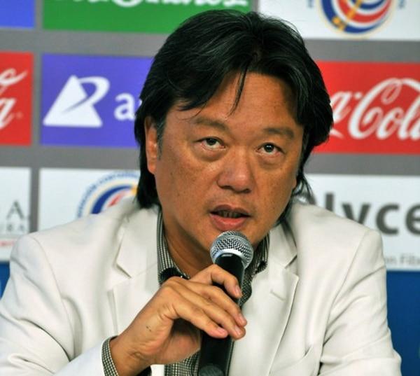 Eduardo Li, presidente de la Federación Costarricense de Fútbol.