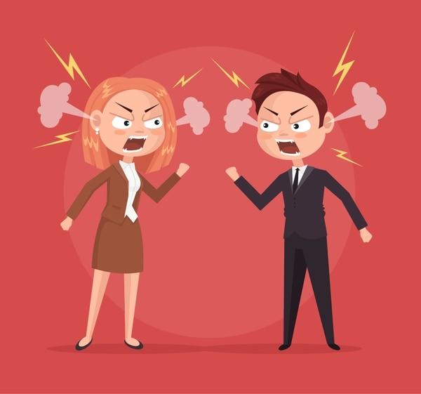 Después de una pelea con un compañero, sea proactivo para disculparse