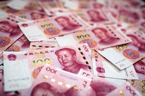 El yuan alcanzó su nivel más alto frente al dólar en más de dos años. La moneda se cotizó en 6,4381 yuanes por dólarFoto: Nicolas Asfouri/ AFP.