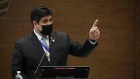Presidente Carlos Alvarado ordena intervenir Conavi