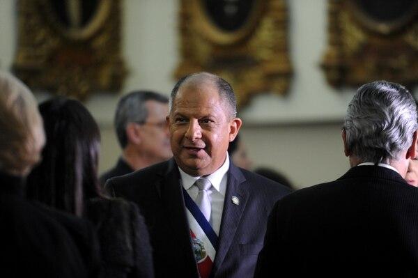 Durante el bipartidismo casi la mitad de las leyes eran aprobadas por el impulso de la Presidencia de la República. Foto de: Diana Méndez.