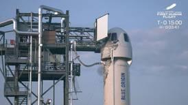 William Shatner se prepara para subir al cohete de Bezos