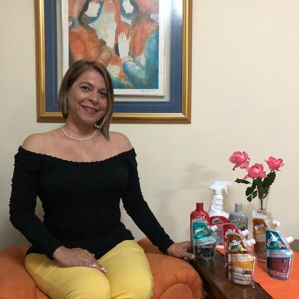 Mariamelia Prado Guasch, emprendedora de 52 años, es la propietaria de la pyme Icaipa, creadora de la marca Guax. La próxima semana buscará nuevas oportunidades comerciales en la rueda de negocios BTM. (Foto: Guax para EF).