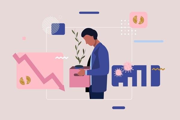 La coyuntura dificulta la diversificación de pólizas de desempleo. La velocidad con la actividad económica se reactive es fundamental para el mercado. Fotografía: Shutterstock.
