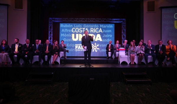 07/03/2018. San Jose. Presentacion del Equipo economico de Fabricio Alvarado en el Crowne Plaza. Fotografia: Graciela Solis
