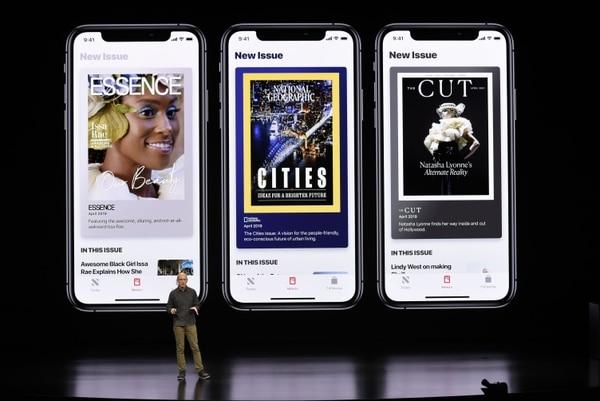 Apple presentó este viernes en California, Estados Unidos, su