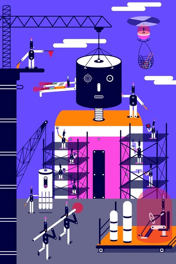 Los gigantes de la tecnología están buscando formas automáticas para lidiar con la escasez de expertos en inteligencia artificial.