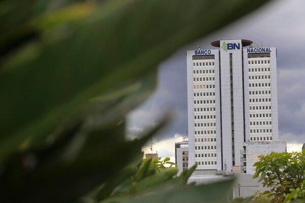 De las tres entidades estatales, el que tuvo el mayor decrecimiento fue el Banco Nacional, cuyas utilidades descrecieron 51% con respecto al año previo.