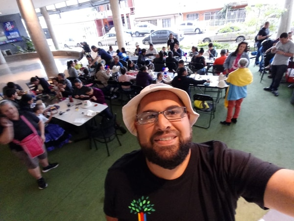 Diego Villegas en una de las actividades organizadas. (Foto cortesía Vidaventura Formación Integral)