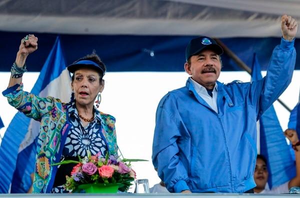 Ortega, de 72 años y con 11 años consecutivos en el poder, es señalado por sus críticos de instaurar una dictadura junto a su esposa y vicepresidenta Rosario Murillo.