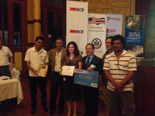 Dikà fue la idea de negocio que ganó el primer lugar en la categoría con fines de lucro.