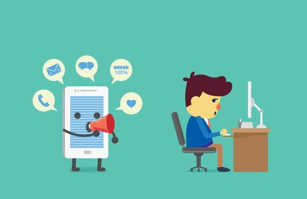 Preste atención a lo que está sucediendo la próxima vez que se distraiga: ¿le aburre lo que estás haciendo? ¿Le distrae un teléfono que está sonando?