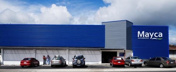 La empresa posee nueve autoservicios en el país.