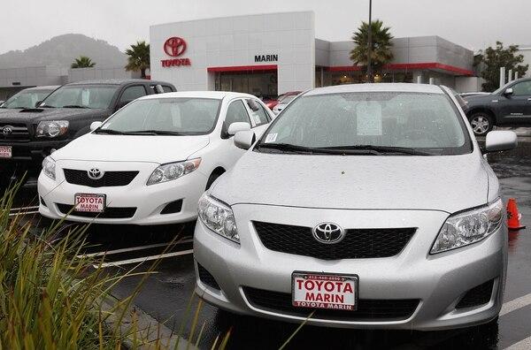 En 2012 Toyota alcanzó un récord de exportaciones de vehículos construidos en Estados Unidos.