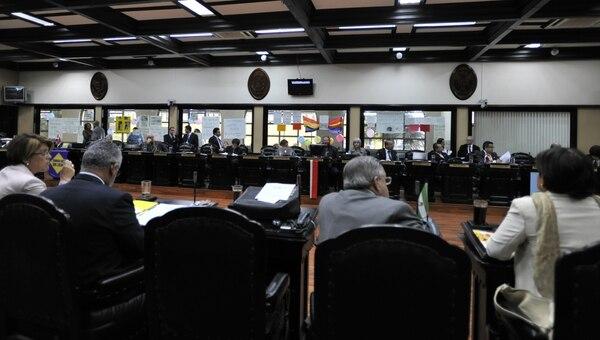 El Plenario espera una agudización del control político durante la campaña política que iniciará este 2 de octubre oficialmente.