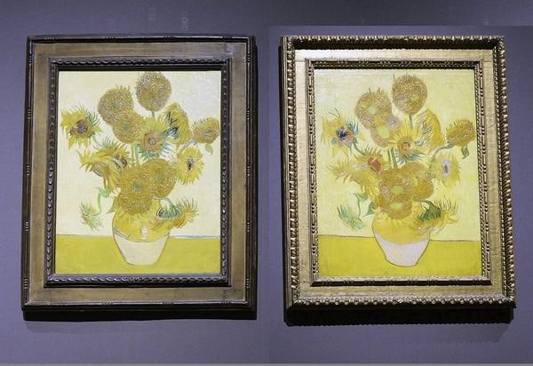 """Los girasoles"" de Vincent Van Gogh"