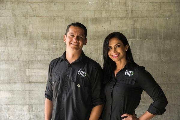 David Bermúdez e Ileana Delgado son los fundadores de Flip. (Foto Alejandro Gamboa)