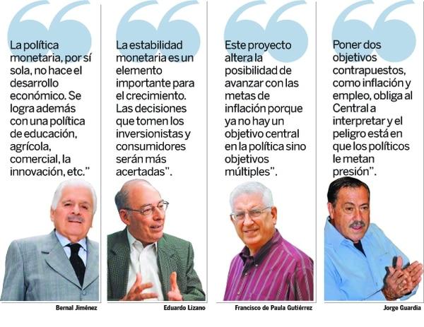 Expresidentes del BCCR
