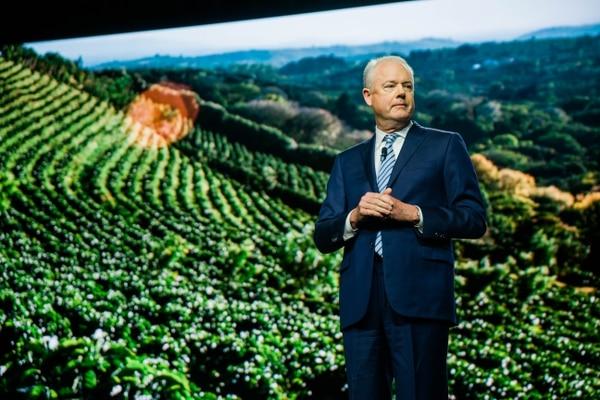 El CEO de la cadena de cafeterías Starbucks, Kevin Johnson, considera que la empresa seguirá creciendo de manera importante en países como India y China.