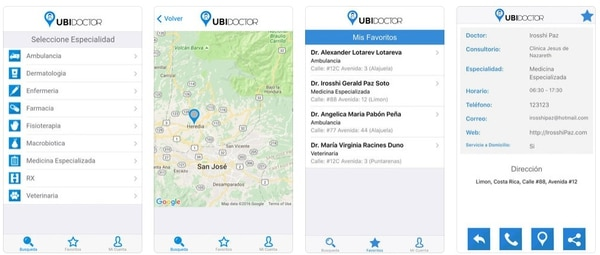 La app Ubidoctor se encuentra disponible en Google Play y en la Apps Store para iPhone.