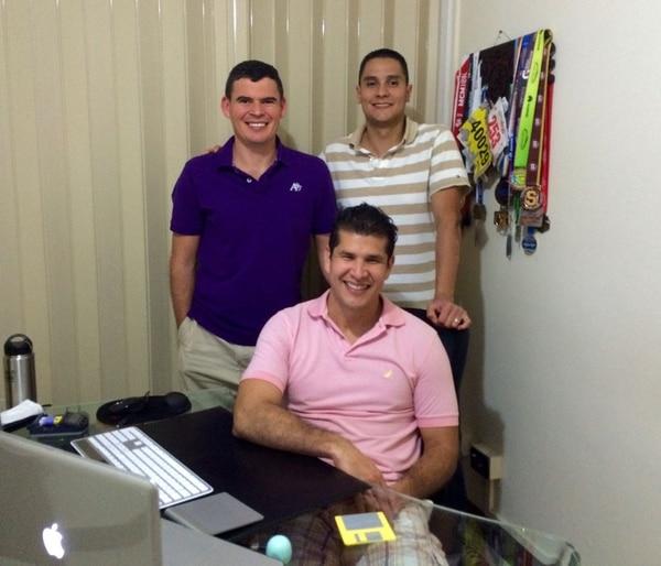 La empresa la integran Juan Carlos Valerio, José Antonio Medaglia y Alexander Wong.