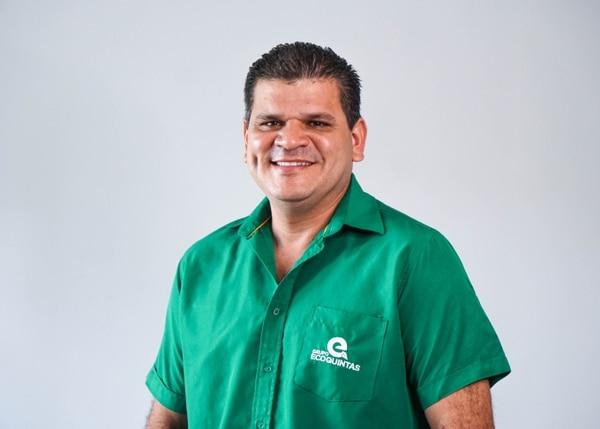"""""""El nómada digital es una tendencia. Es un cambio de estilo de vida"""", dice Gaudelio Zúñica, presidente de Ecoquintas. (Foto para EF)"""