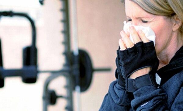 Estando enfermo, se puede hacer ejercicio cuando los síntomas son leves y tolerables