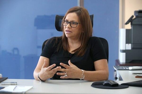 Elizabeth Mora, directora de la Agencia Prodhab, afirmó que no han recibido denuncias del caso de la Clínica Marcial Fallas. (Foto John Durán / Archivo)