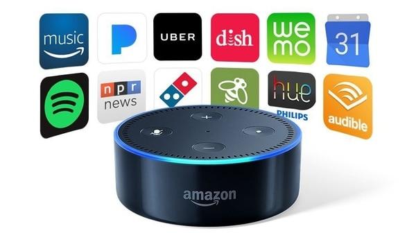 El asistente virtual Alexa de Amazon es un mayordomo digital que puede encargar una pizza o aparatos electrodomésticos.