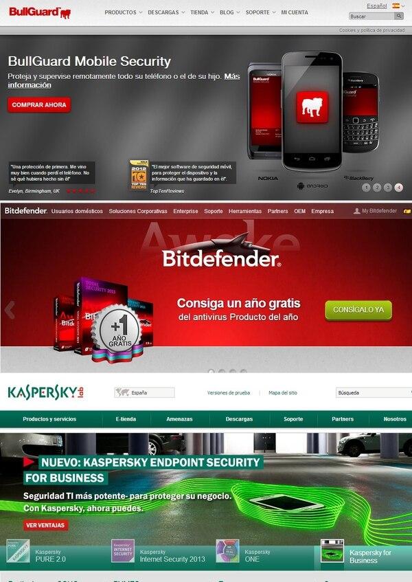 Las soluciones de seguridad de Bitdefender 13.0 , BullGuard 11.0 y Kaspersky Lab 2013 , en ese orden, las mejores para usuarios domésticos, reveló un análisis hecho por AV Test .