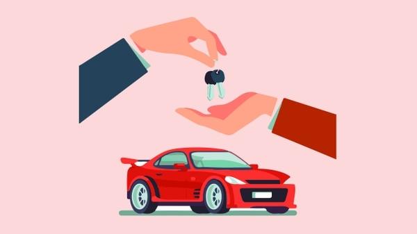 ¿Cómo impacta la nueva ley la venta de vehículos inscritos en el Registro Nacional? Ilustración: Carlos Fonseca.